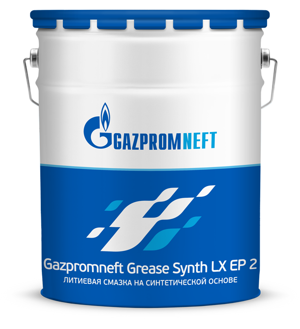 Пластичная смазка Gazpromneft Grease Synt LX EP 2 (18 кг) Италия