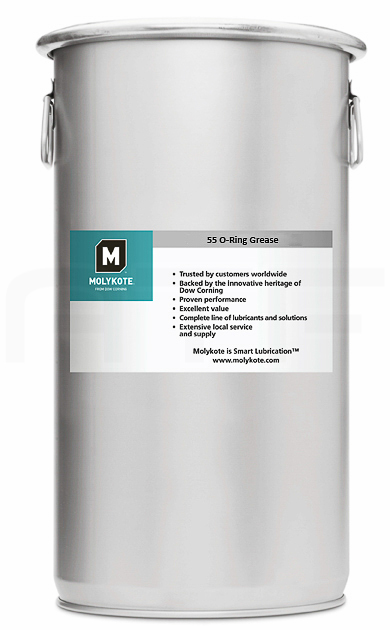 Пластичная смазка Molykote 55 O-Ring Grease (25 кг)