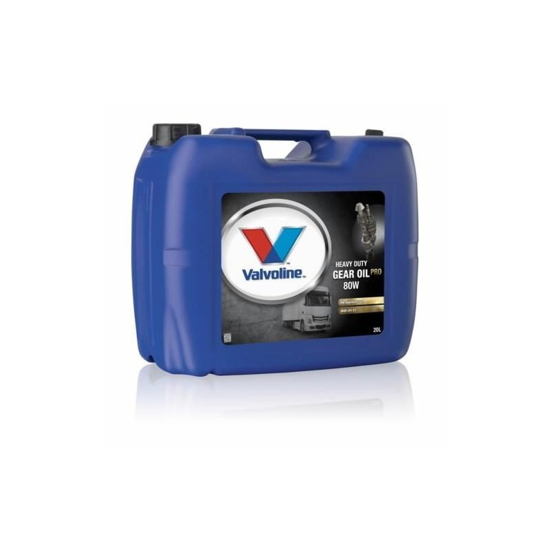 Масло VALVOLINE VAL HD GEAR OIL 75W80 (20 л)