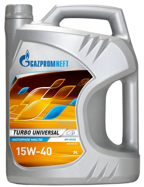Масло Gazpromneft Turbo Universal 15W-40 (5 л) ОНПЗ