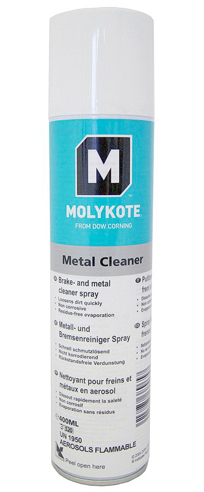 Очиститель Molykote Metal Cleaner Spray (400 мл)