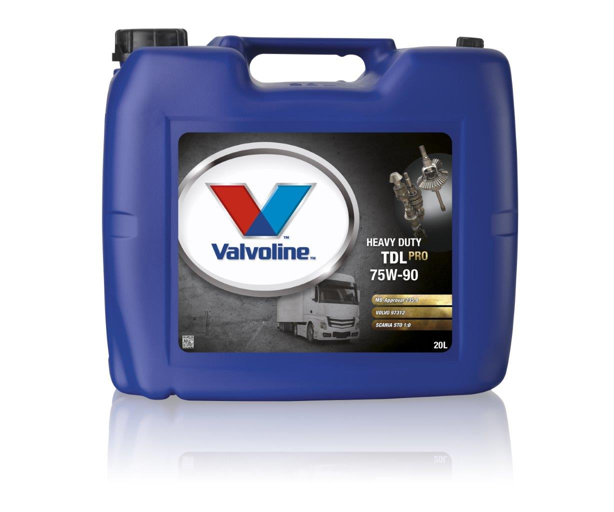Масло VALVOLINE VAL HD TDL PRO 75W90 (20 л)