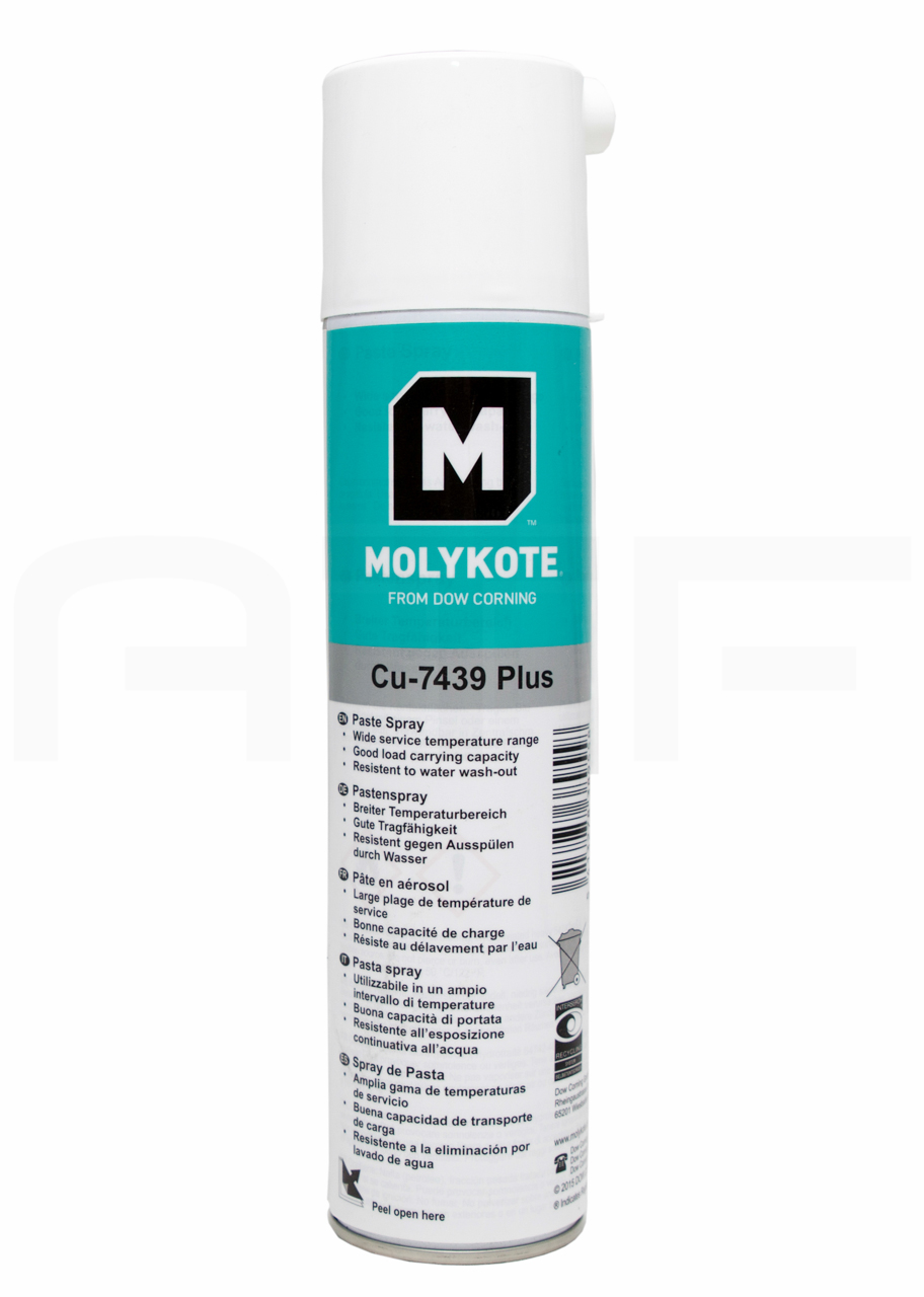 Паста Molykote Cu-7439 Plus Spray (400 мл)
