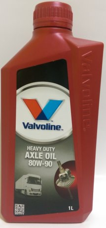 Масло VALVOLINE VAL HD AXLE OIL 80W90 (5 л)