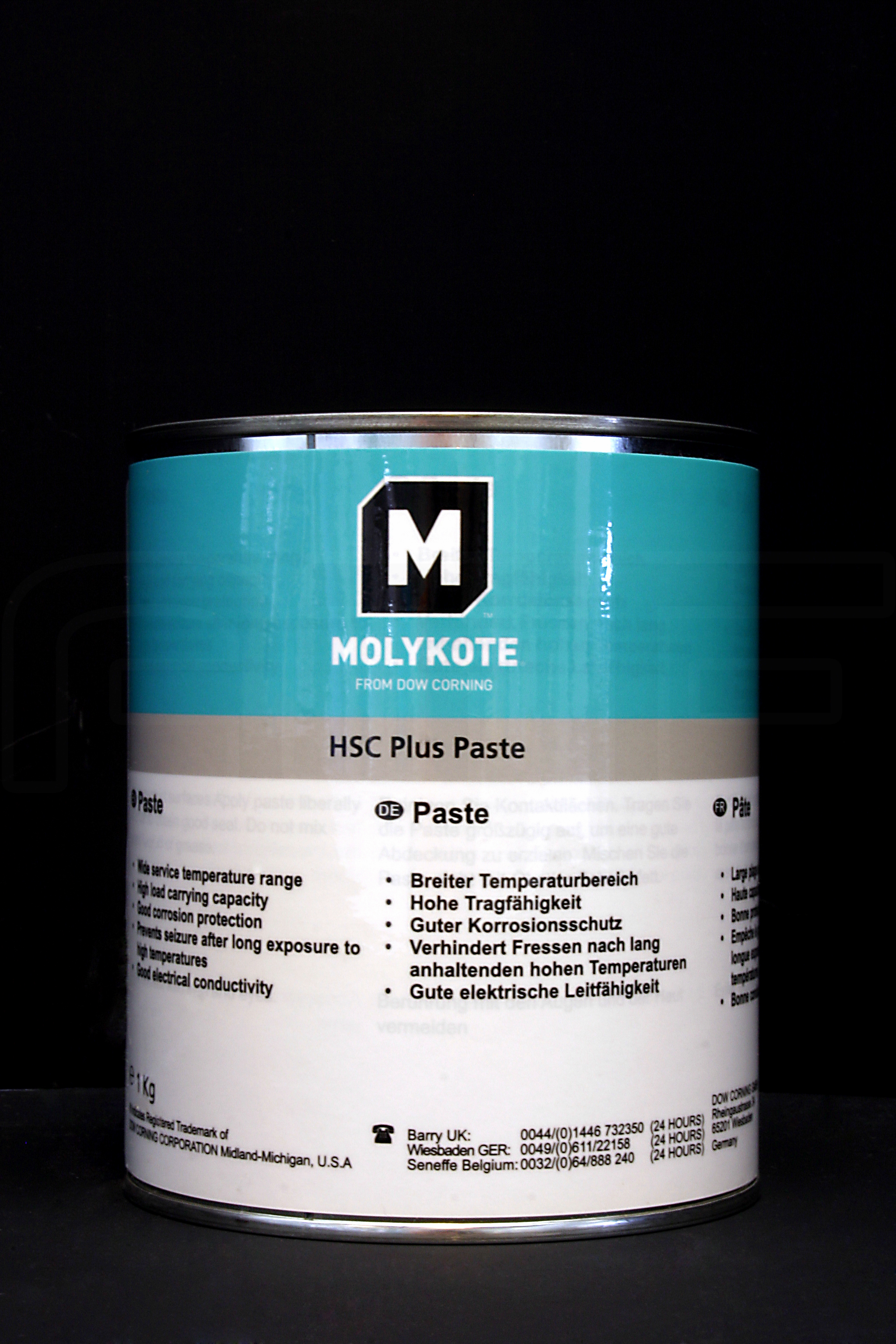 Паста Molykote HSC Plus (1 кг)