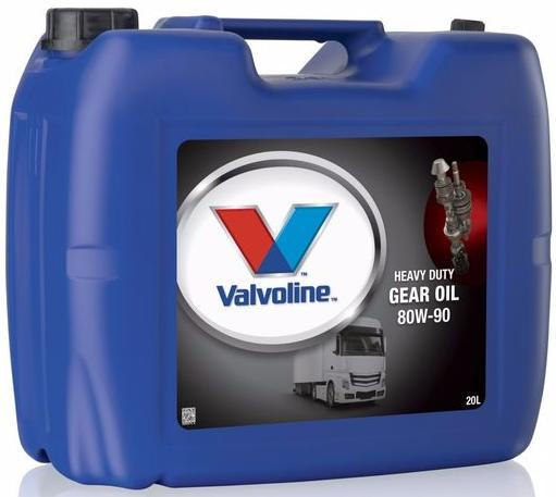 Масло VALVOLINE VAL HD GEAR OIL 80W90 (20 л)