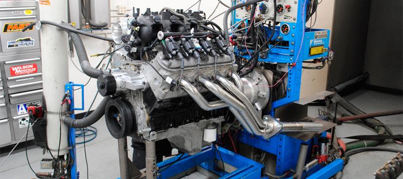 Обкатка двигателя после капитального ремонта на специальном стенде